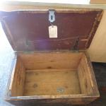 Trunk Handmade well used early trunk/chest  Antique Character Piece