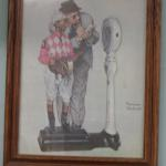 Rockwell painting reprint
