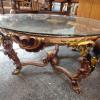Glass Top with Beautiful Gold Designer Coffee Table
