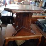 Small Octagon Wood Table