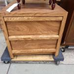 Two drawer end piece dresser