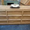 Long (9) Nine drawer dresser