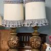Two cute matching lamps