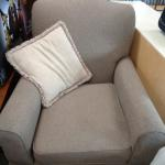 Comfortable Chair Good Condition Neutral Color