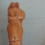 Wood Tone Figurine