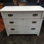 Small White 3 Drawers