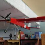 R.C Red Airplane