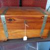 Antique Fully Lined Small Cedar Chest